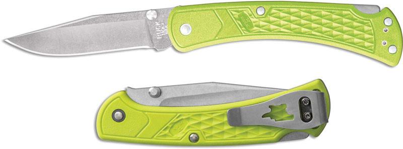 Фото 11 - Складной нож Buck Folding Hunter Slim Select 0110GRS1, сталь 420HC, рукоять пластик