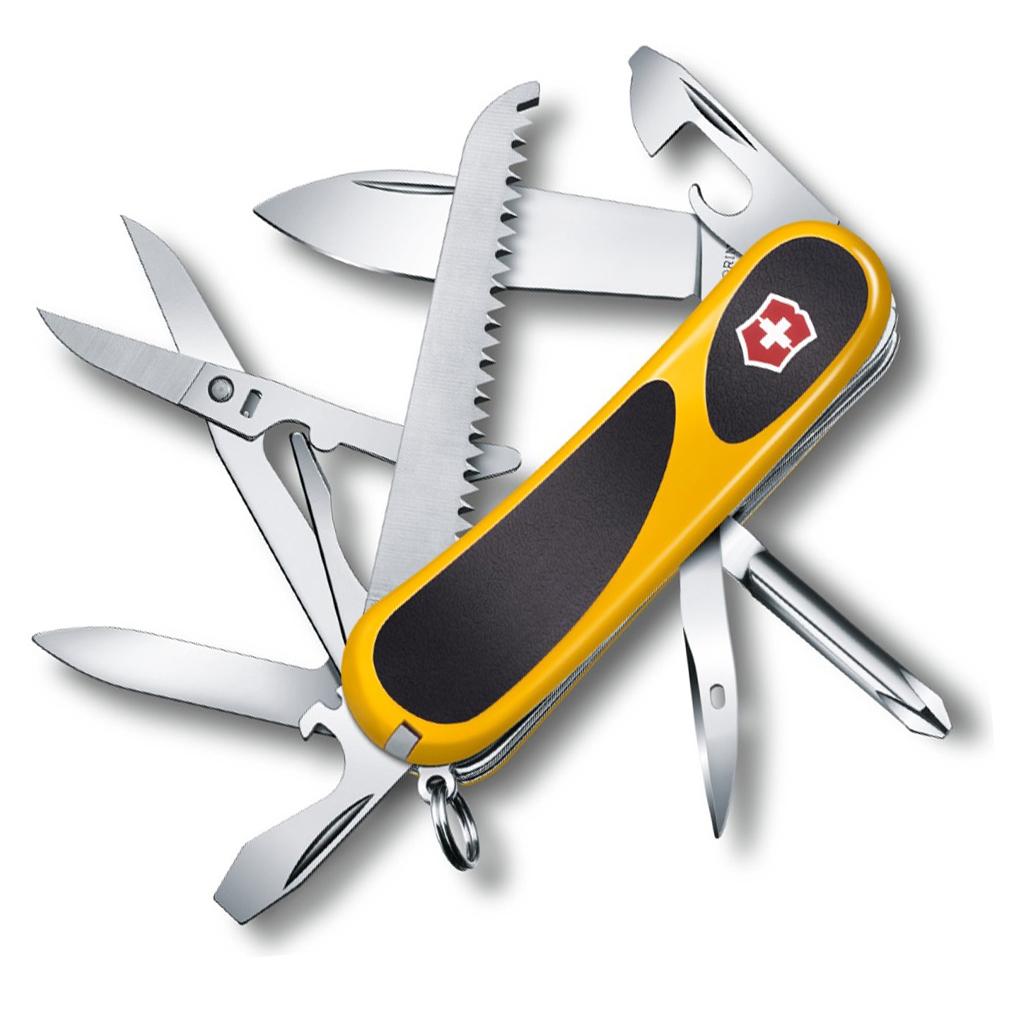 Нож перочинный Victorinox EvoGrip 18 2.4913.C8 85мм 15 функций жёлто-чёрный