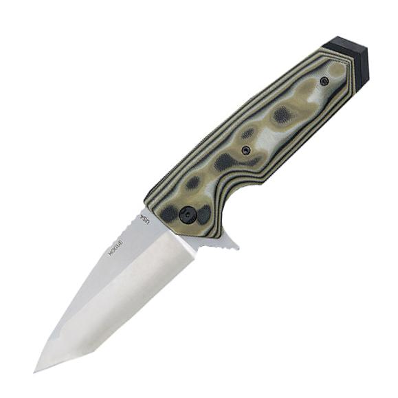 Нож складной Hogue EX-02 Tanto, сталь 154CM, рукоять стеклотекстолит G-Mascus®, зеленый