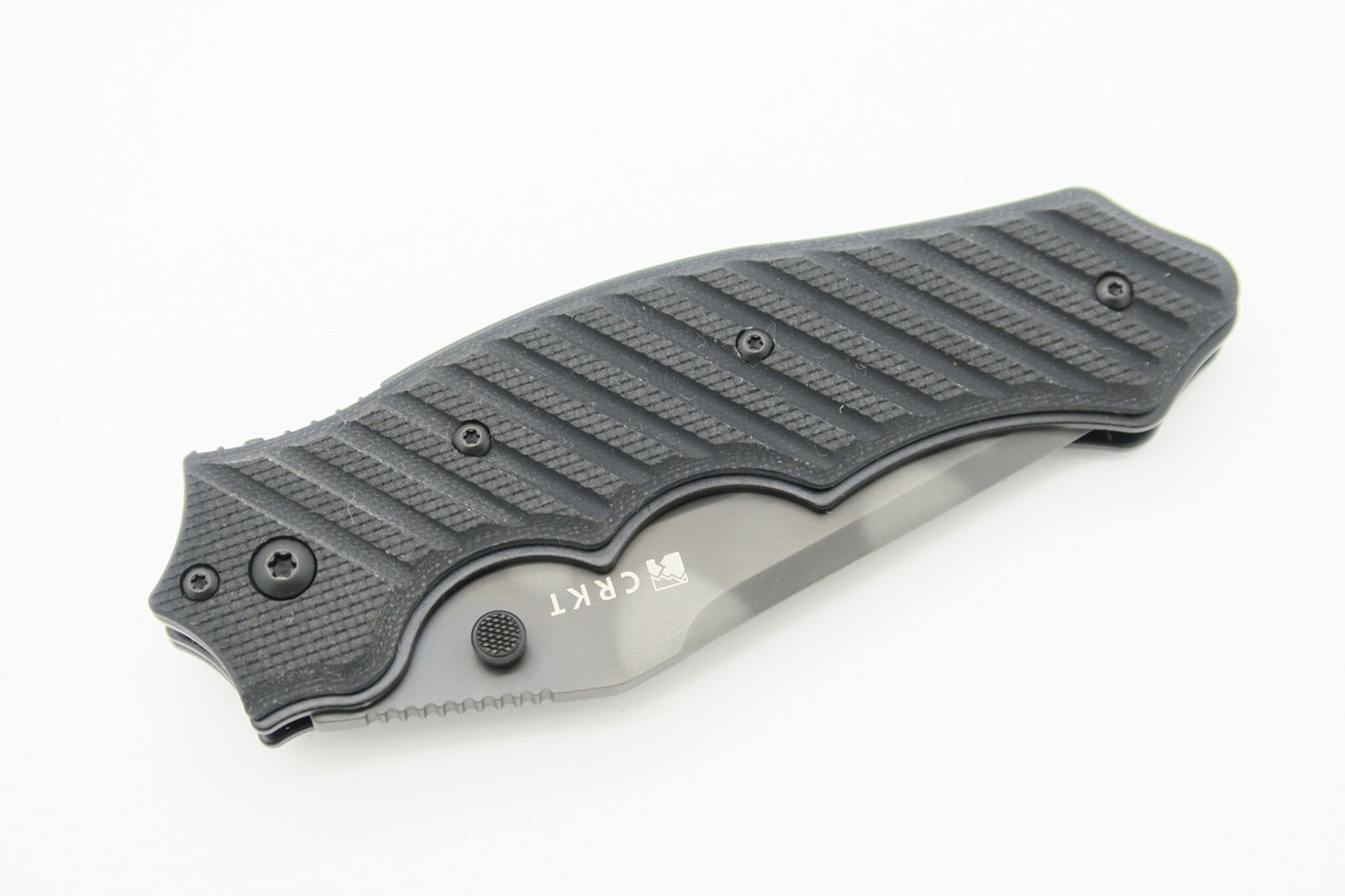 Фото 8 - Складной нож CRKT 1030TSQ Triumph-2, сталь AUS-8 Tiger Stripe, рукоять стеклотекстолит G10