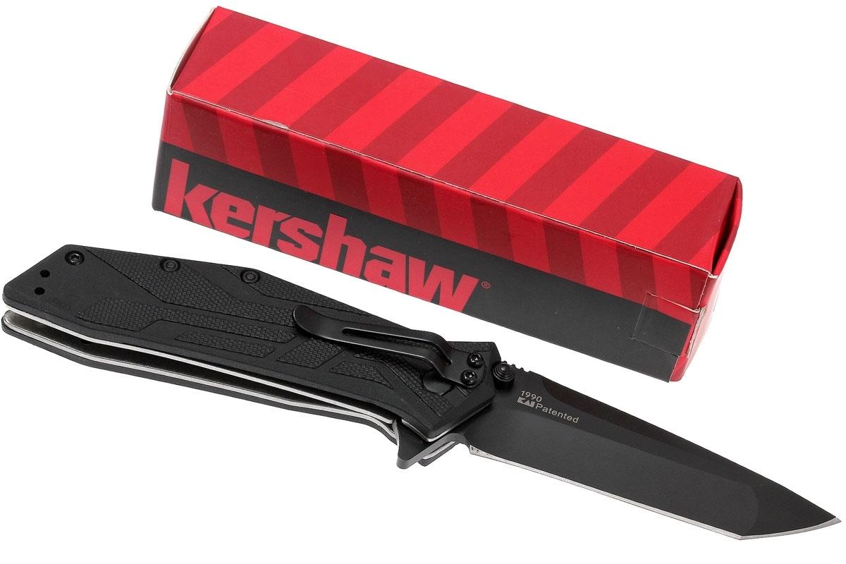 Фото 3 - Складной полуавтоматический нож Kershaw Brawler K1990, сталь 8Cr13MoV, рукоять термопластик GRN