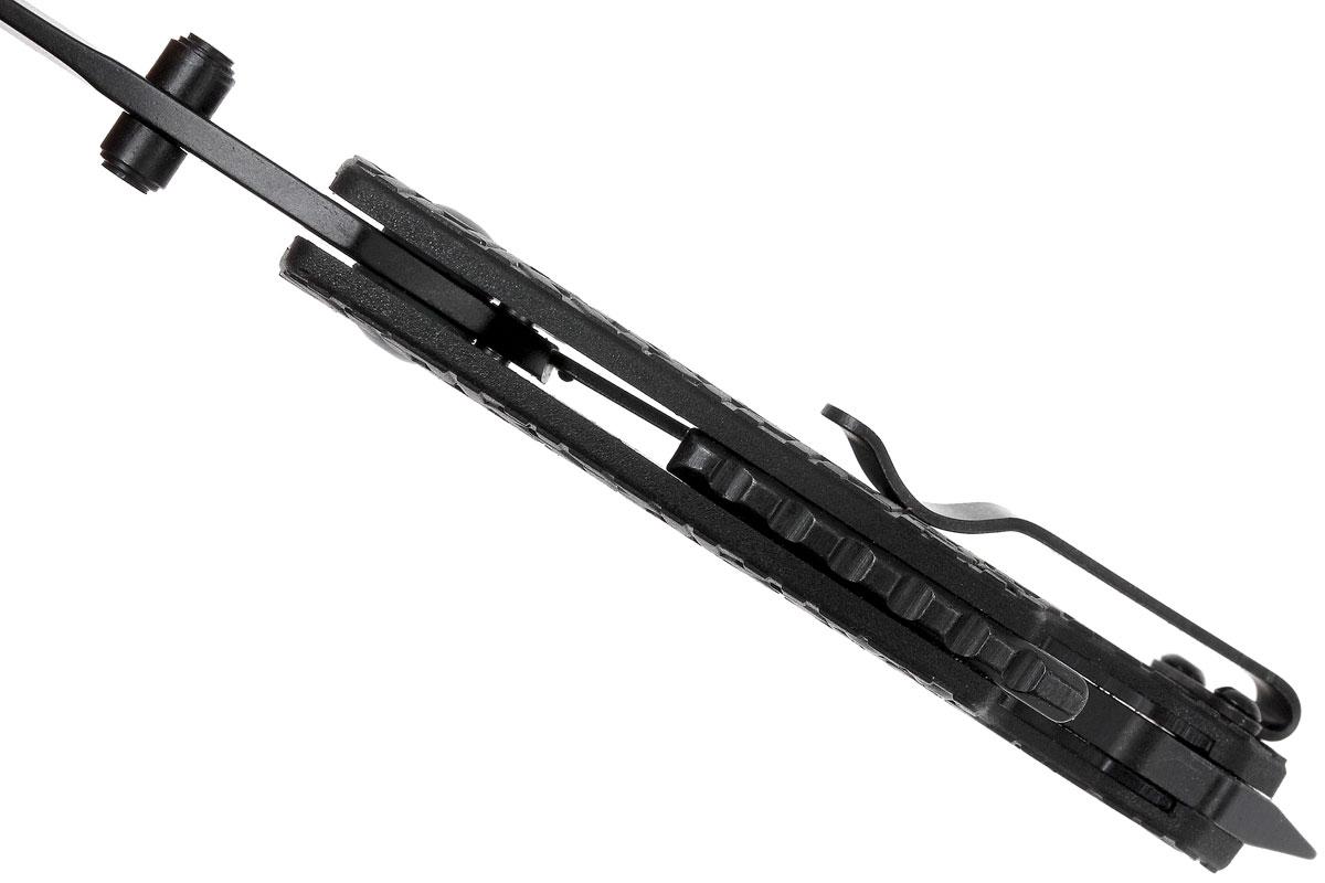 Фото 11 - Нож складной Shuffle - KERSHAW 8700BLK, сталь 8Cr13MoV c покрытием BlackOxide, рукоять текстурированный термопластик GFN