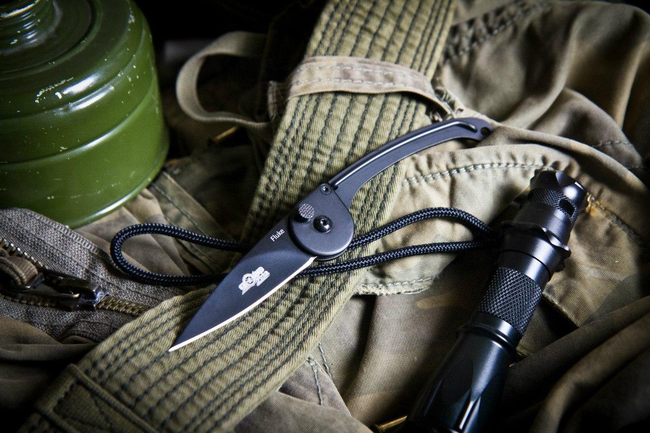 Складной нож Fluke от Ground Zero