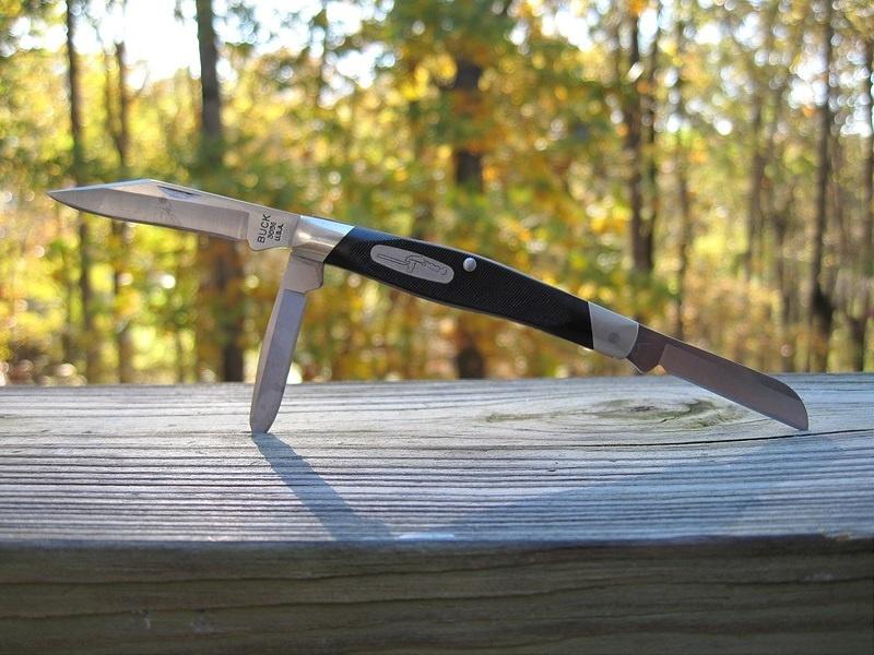 Фото 10 - Нож складной 301 Stockman® - BUCK 0301BKS, сталь 420НС, рукоять пластик Valox®