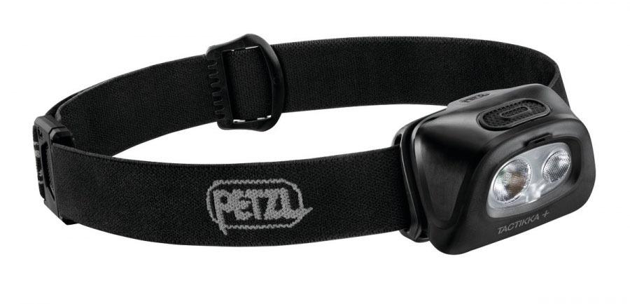 Фонарь светодиодный налобный Petzl Tactikka черный, 350 лм