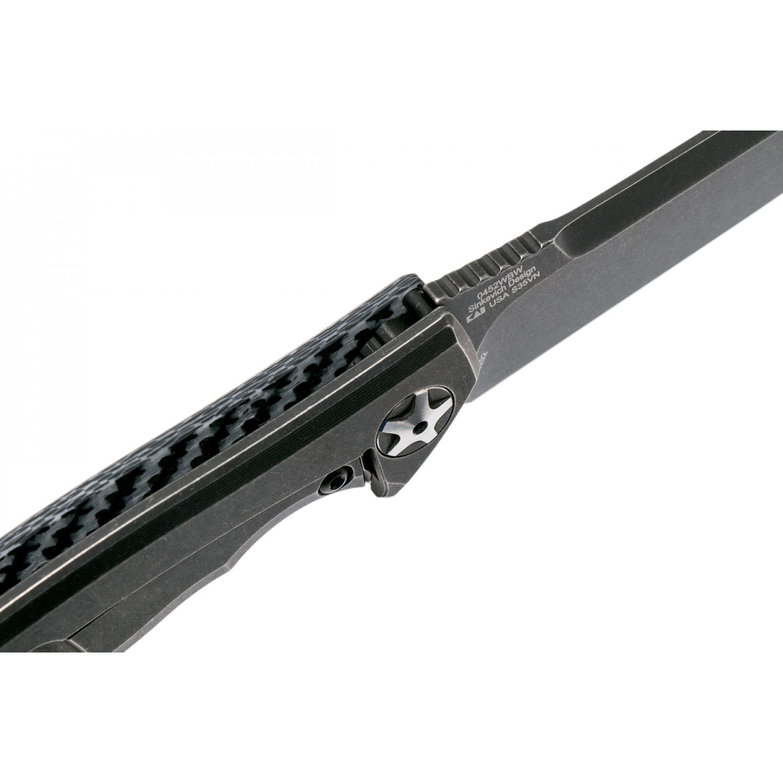 Фото 9 - Складной нож Zero Tolerance 0452WBW, сталь CPM-S35VN, рукоять карбон/титан BlackWash™ покрытие