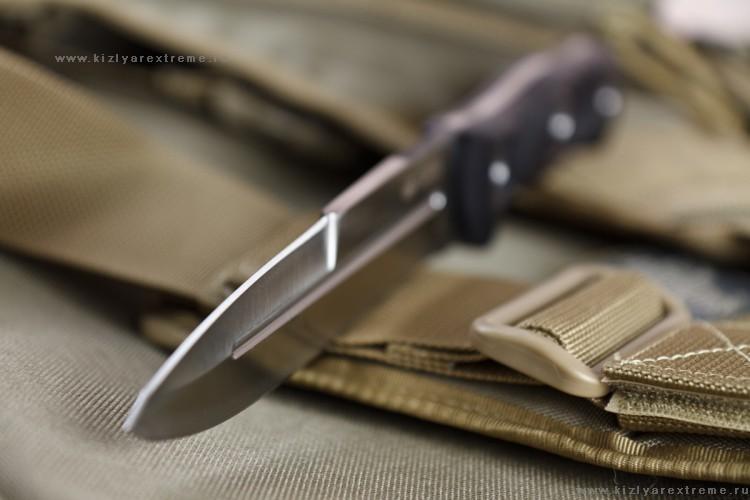 Фото 6 - Нож Legion D2 Satin+SW, Кизляр от Kizlyar Supreme