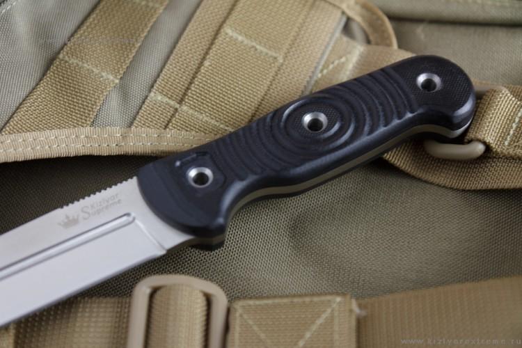Фото 7 - Нож Legion D2 Satin+SW, Кизляр от Kizlyar Supreme