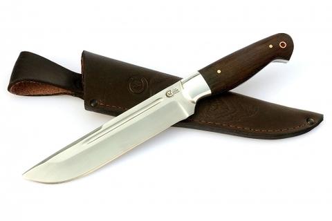 Нож цельнометаллический Оборотень, сталь Х12МФ, рукоять венге. Вид 1