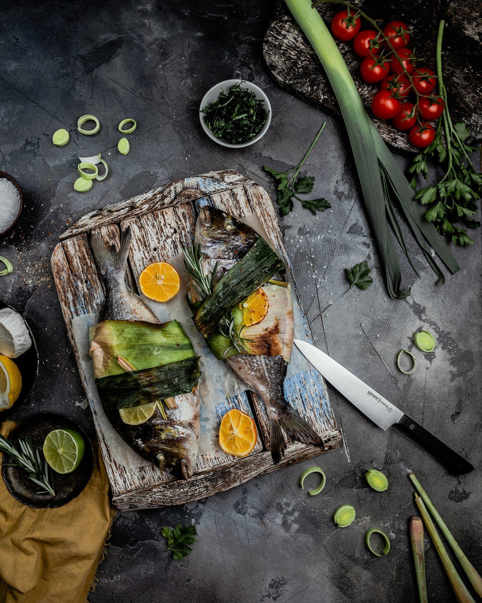 Фото 9 - Нож кухонный универсальный Samura