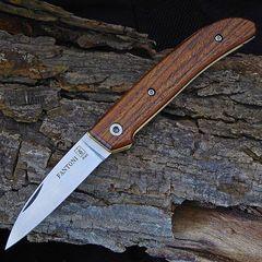 Нож складной Dweller Bocote wood, Handle, Massimo Fantoni Design 6.6 см.