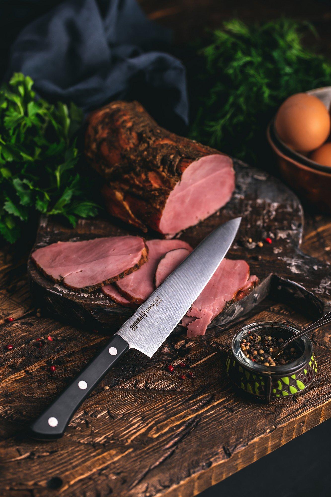 Фото 10 - Нож кухонный универсальный Samura