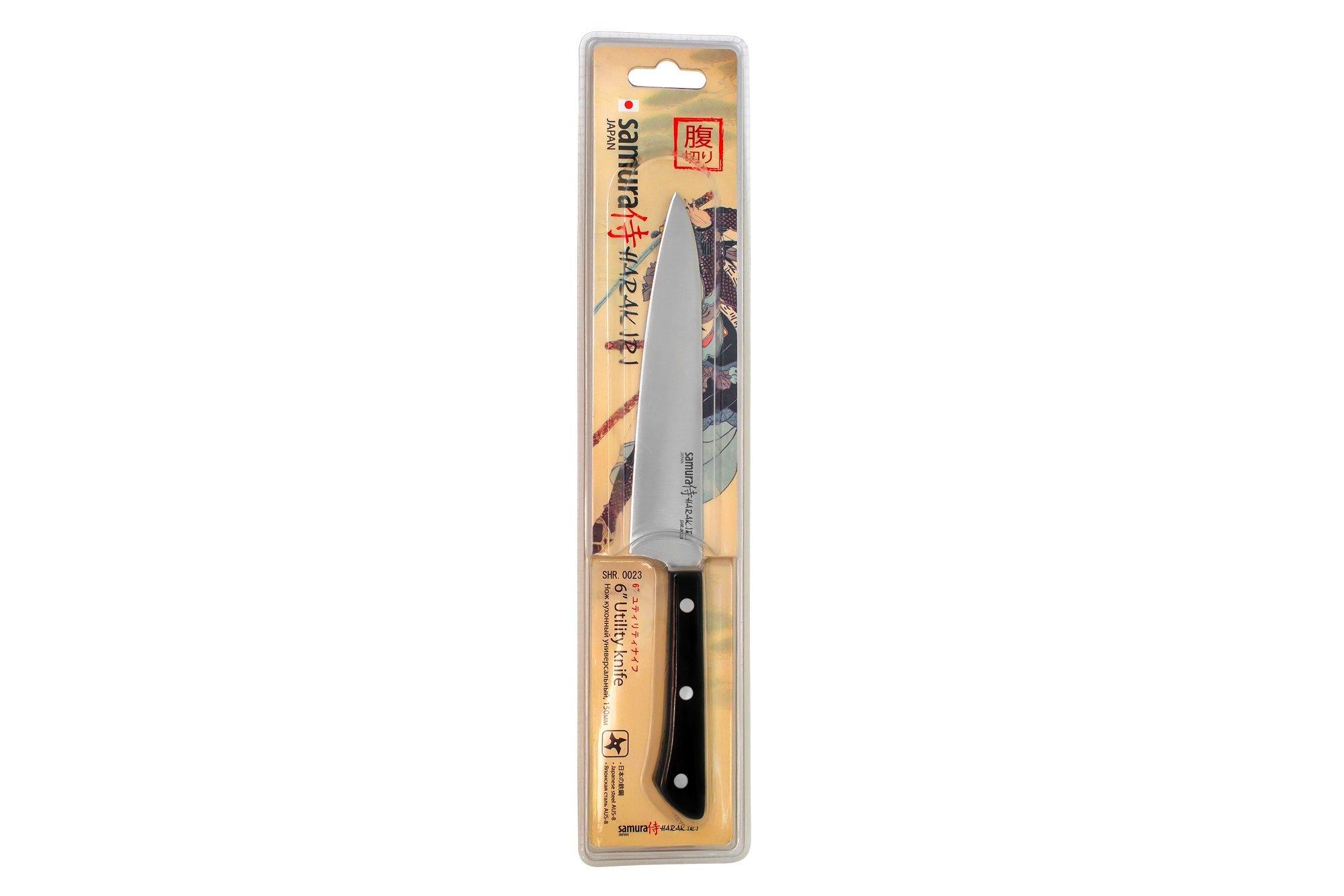 Фото 7 - Нож кухонный универсальный Samura