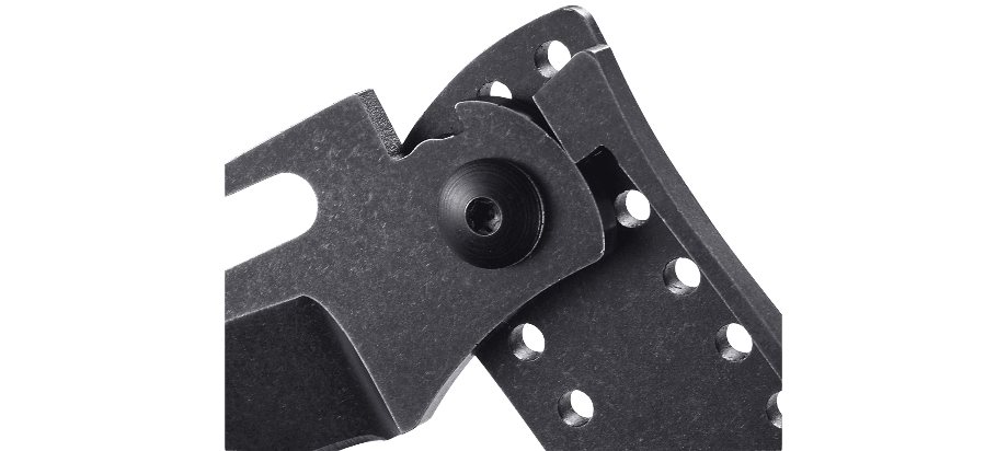 Фото 9 - Складной нож CRKT Desta™, сталь 8Cr13MoV, рукоять нержавеющая сталь