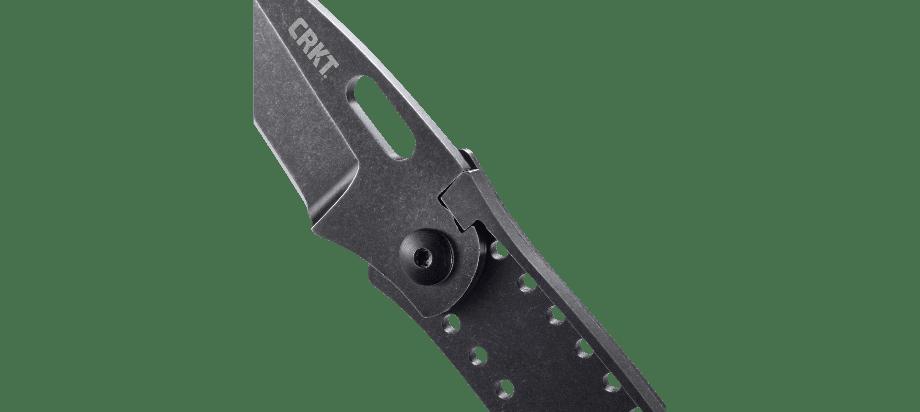 Фото 10 - Складной нож CRKT Desta™, сталь 8Cr13MoV, рукоять нержавеющая сталь