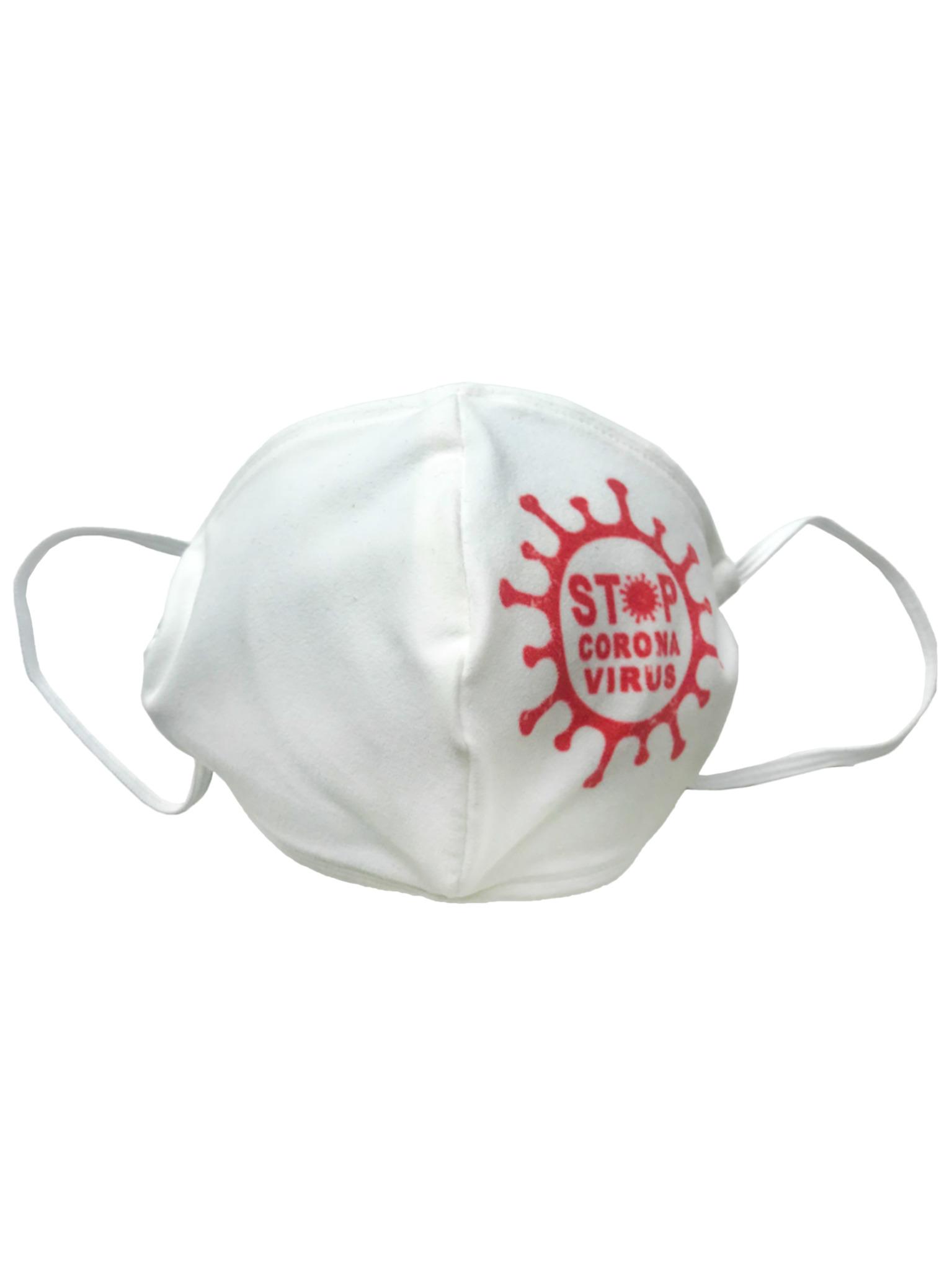 Маска тканевая Stop Coronavirus от gekoko