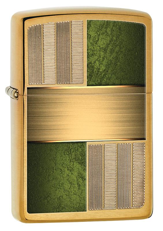 Зажигалка ZIPPO Classic с покрытием Brushed Brass