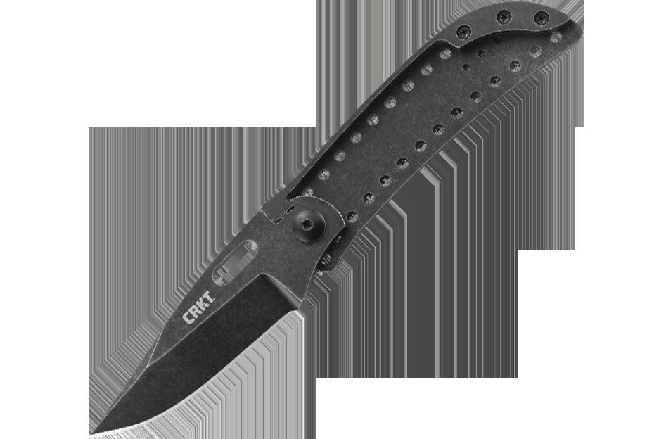Фото 7 - Складной нож CRKT Desta™, сталь 8Cr13MoV, рукоять нержавеющая сталь