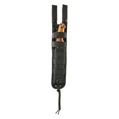 Нож с фиксированным клинком Hogue EX-F01, сталь A2 Tool Steel Black, рукоять дерево кокоболо, фото 4