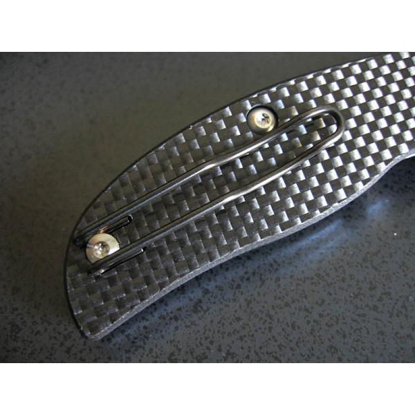 Фото 12 - Нож складной Sage 1 - Spyderco 123CFP, сталь Crucible CPM® S30V™ Satin Plain, рукоять карбон/G10, чёрный