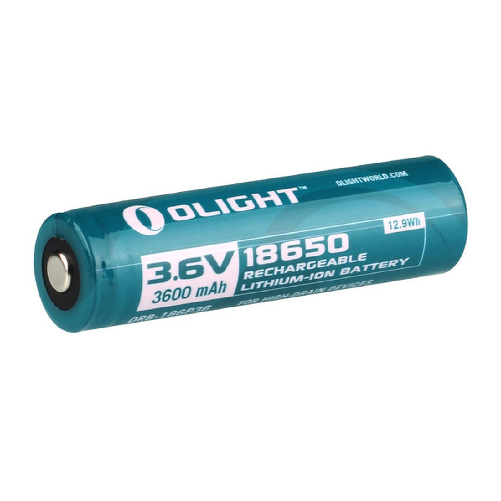 АККУМУЛЯТОР LI-ION OLIGHT ORB-186P36 18650 3,6 В. 3600 MAH аккумулятор telematic dj iph5 для apple iphone 5 1440 mah li ion