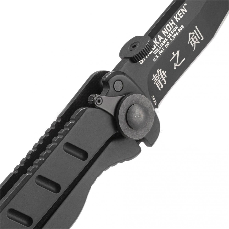 Фото 12 - Складной нож CRKT Shizuka Noh Ken™, сталь AUS-8, рукоять стеклотекстолит G10