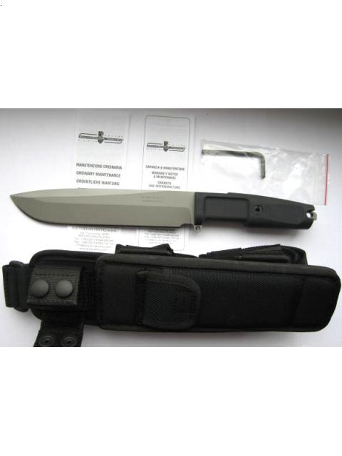 Фото 5 - Нож с фиксированным клинком Extrema Ratio TFDE 19 Sandblasted, сталь Bhler N690, рукоять прорезиненный форпрен