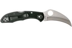 Нож складной Tasman Salt™ 2 Spyderco 106PBK2, сталь H1 Satin Plain, рукоять термопластик FRN, чёрный, фото 7
