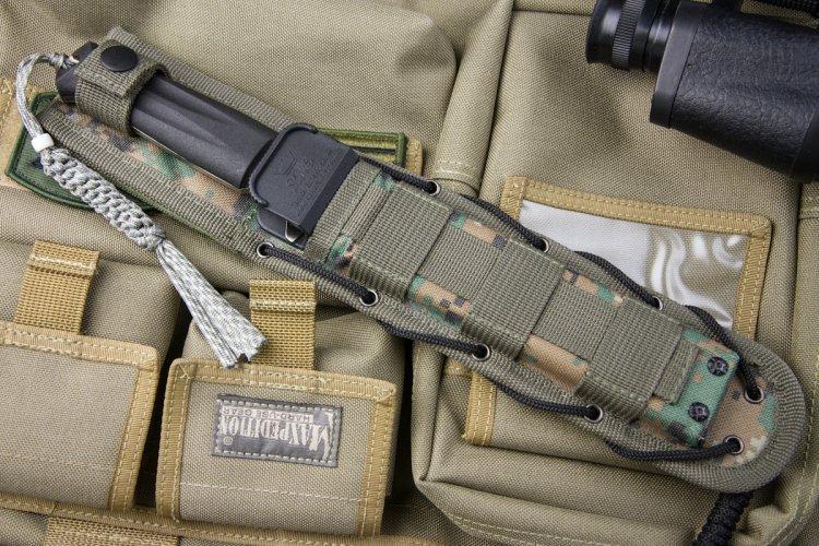 Molle многофункциональный чехол-ножны Tactical Echelon Camo