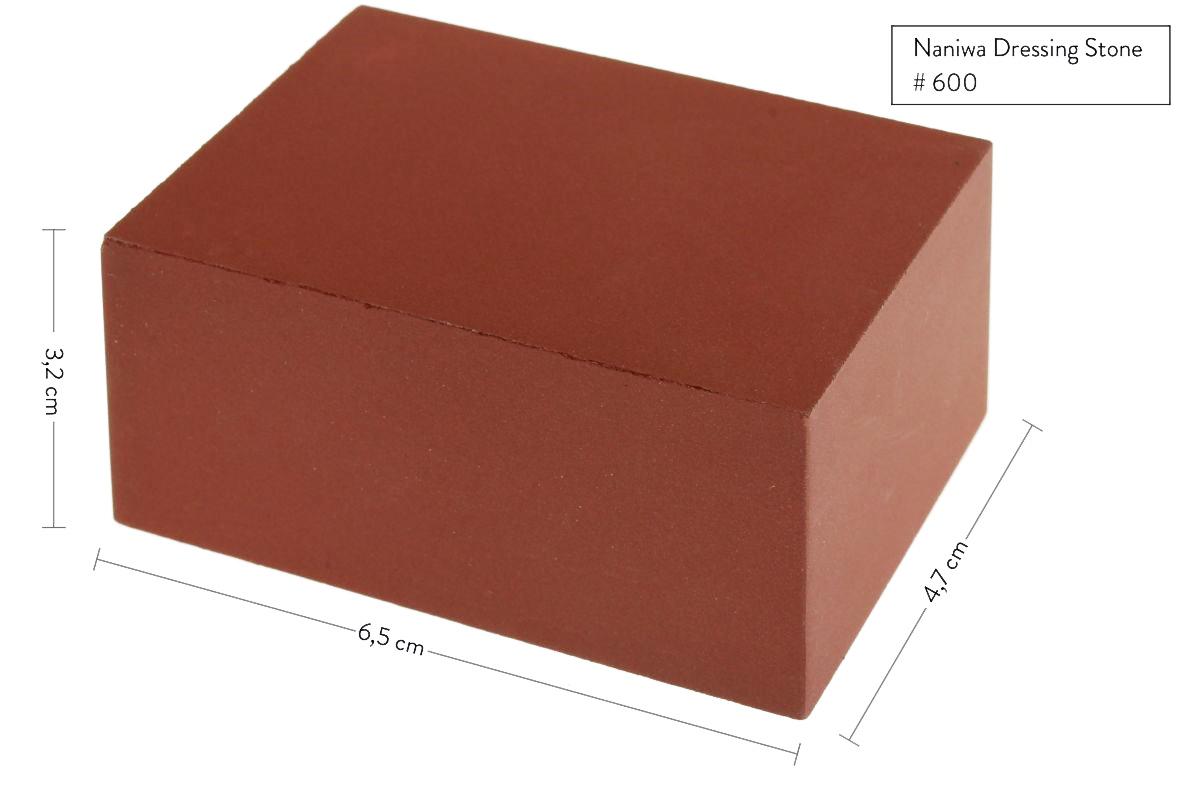 Фото 4 - Камень для наведения суспензии, Naniwa, A-206, #600, коричневый