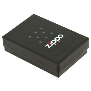 Фото 4 - Зажигалка ZIPPO Black Crackle, латунь с порошковым покрытием, черный, матовая, 36х56х12 мм