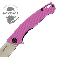 Складной нож Nimo Proletarian, сталь 9Cr18MoV, розовый, фото 3