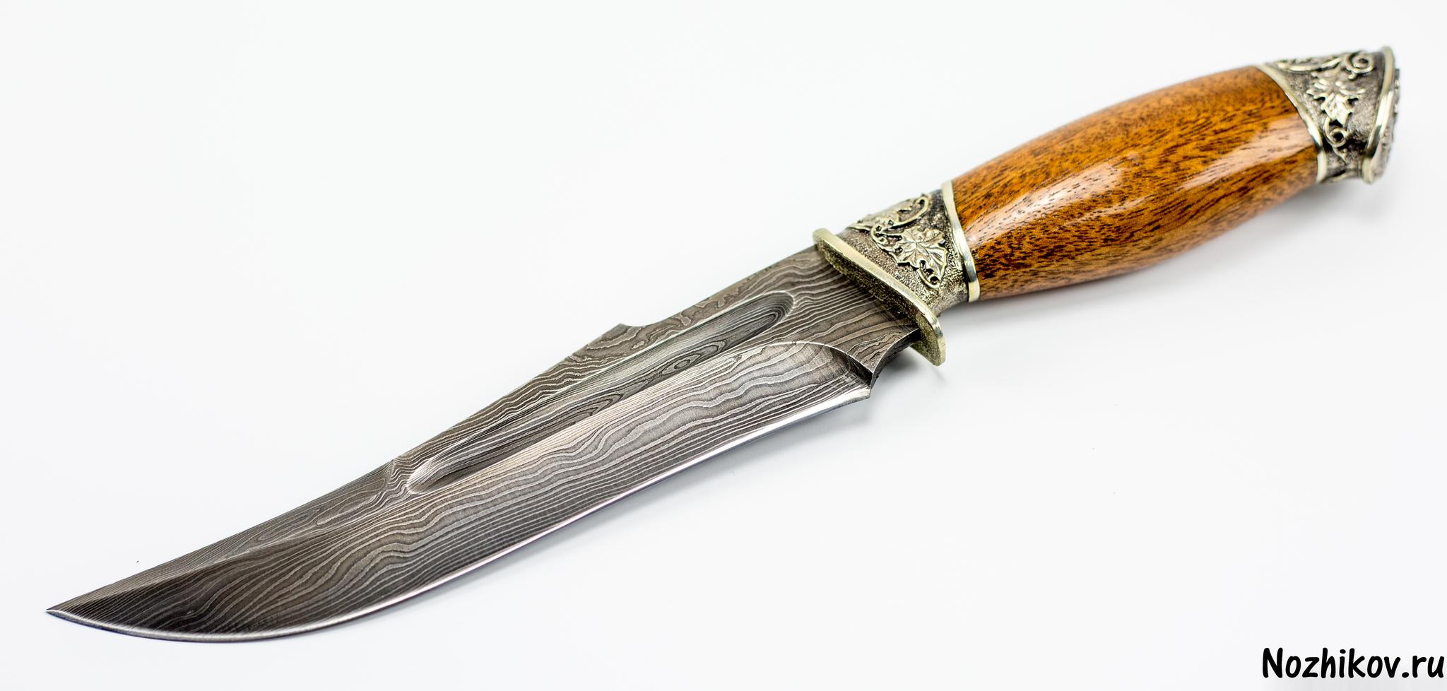 Фото 17 - Авторский Нож из Дамаска №14, Кизляр от Noname
