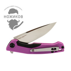 Складной нож Nimo Proletarian, сталь 9Cr18MoV, розовый, фото 8