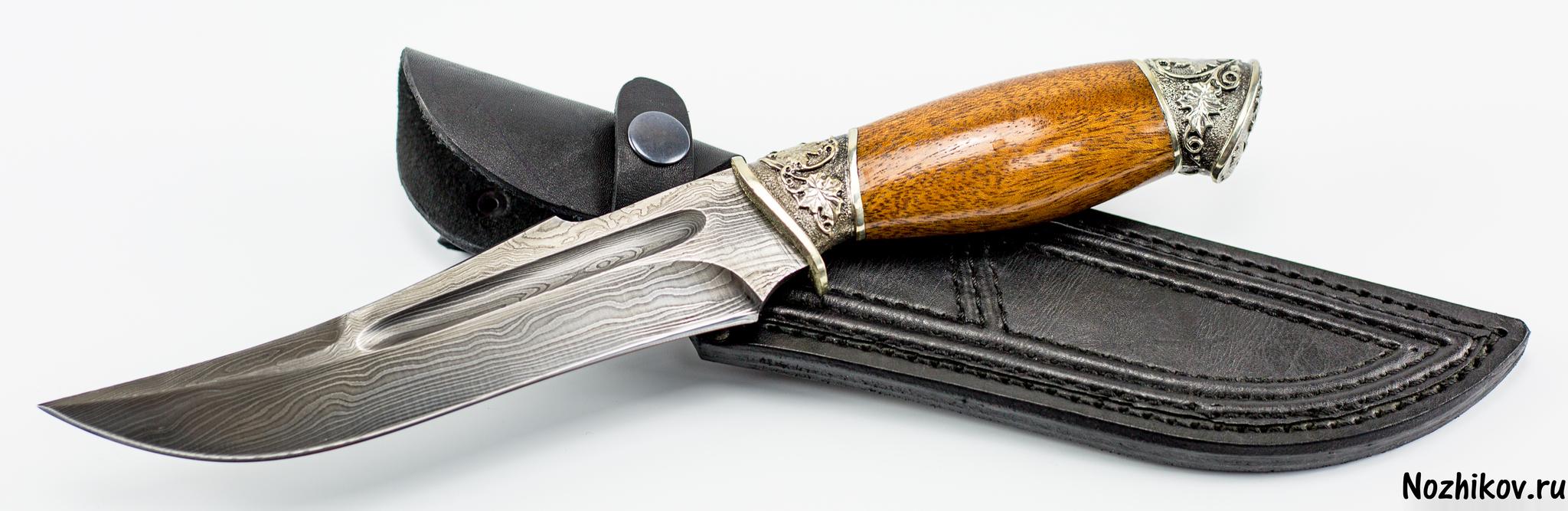 Фото 20 - Авторский Нож из Дамаска №14, Кизляр от Noname