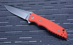 Нож складной Fantoni, HB01, William (Bill) Harsey Design-2, FAN/HB01SwOr, сталь CPM-S30V, рукоять стеклотекстолит G-10, фото 2