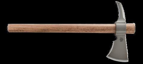 Топор CRKT 2735 Woods Kangee T-hawk, сталь 1055 Carbon, рукоять гикори. Вид 9