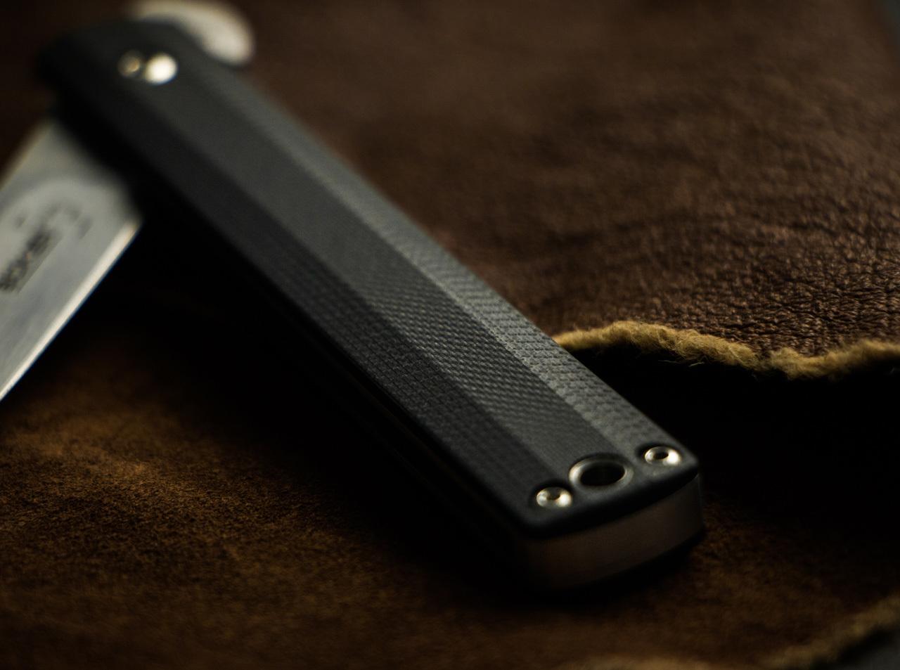 Фото 7 - Складной нож Wasabi G10 - Boker Plus 01BO630, лезвие сталь 440C Satin, рукоять стеклотекстолит G-10, чёрный