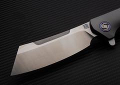 Складной нож Artisan Tomahawk, сталь S35VN, титан, фото 3