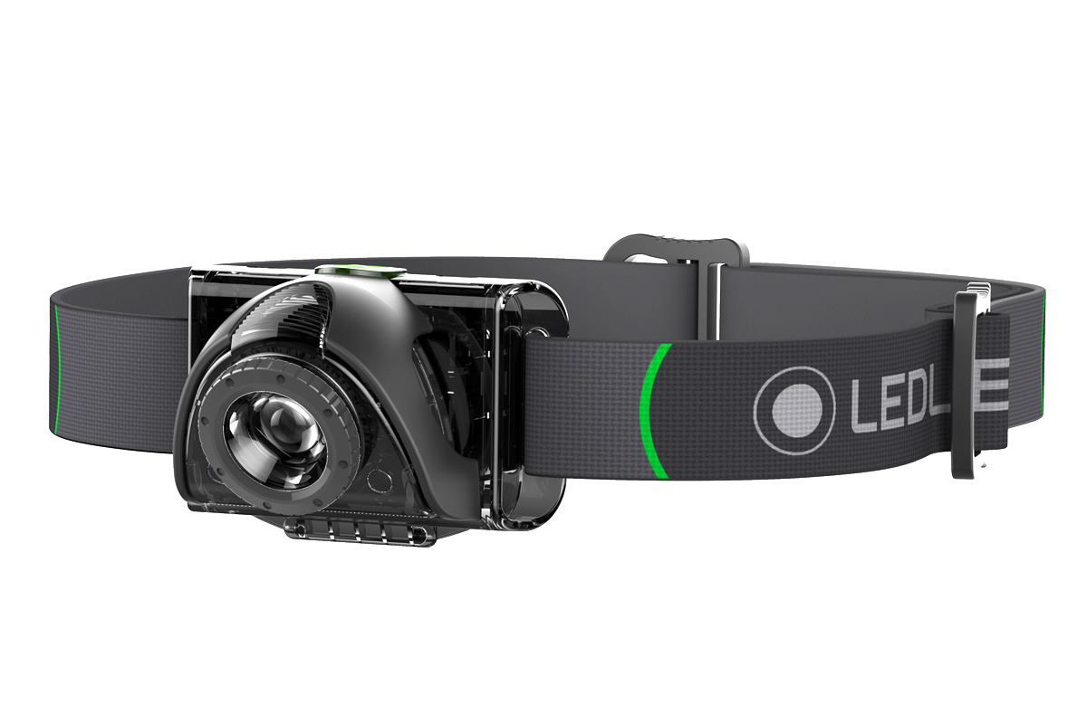 цена на Фонарь светодиодный налобный LED Lenser MH6, черный, 200 лм, аккумулятор