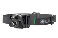 Фонарь светодиодный налобный LED Lenser MH6, черный, 200 лм, аккумулятор, фото 1