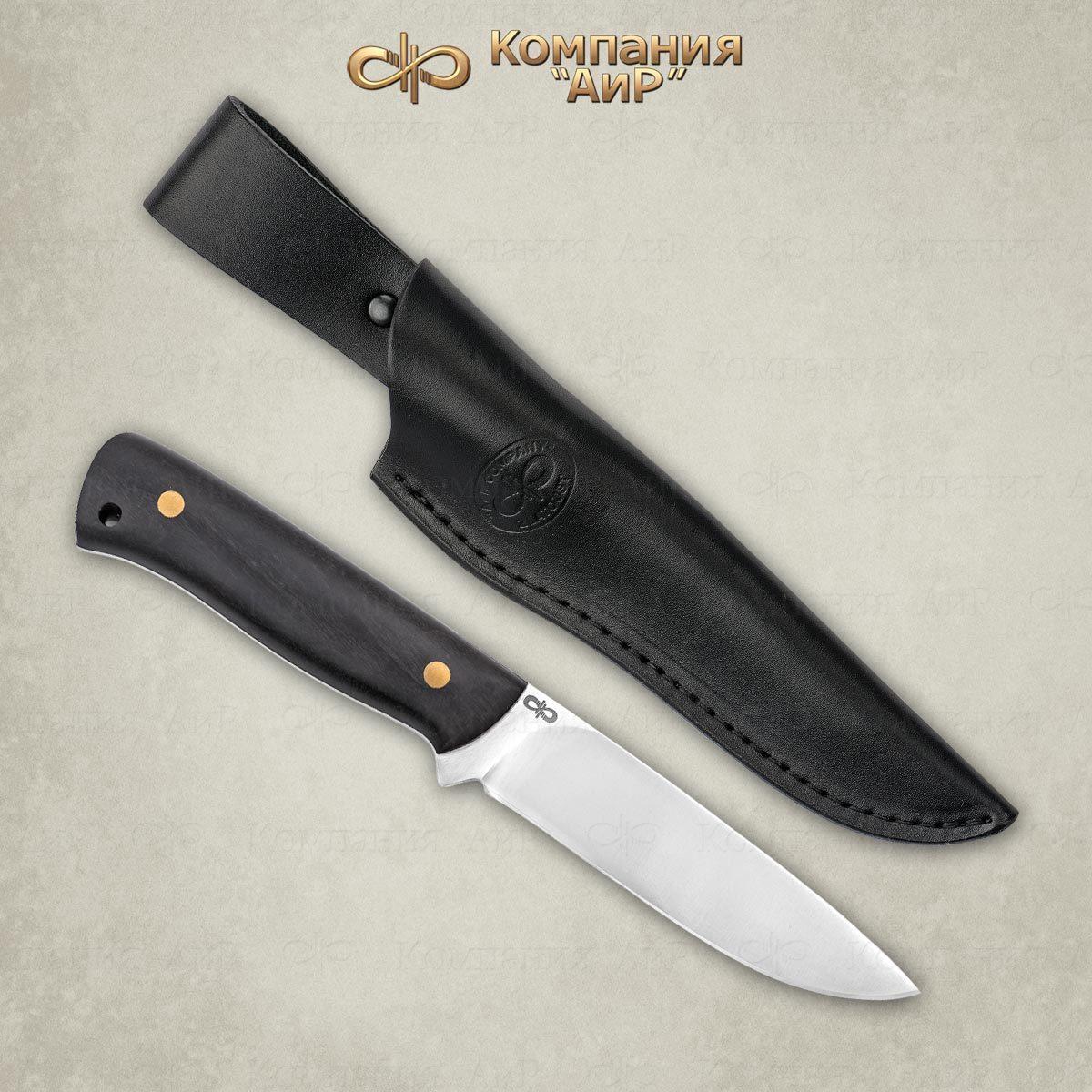 Фото - Нож разделочный АиР Стриж ЦМ, сталь 110х18 М-ШД, рукоять граб нож казацкий засапожный сталь 110х18 рукоять граб