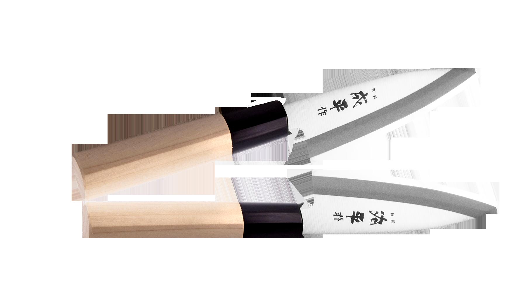 Фото - Нож Деба Narihira Tojiro 105 мм, сталь AUS-8, рукоять дерево кухонные ножи