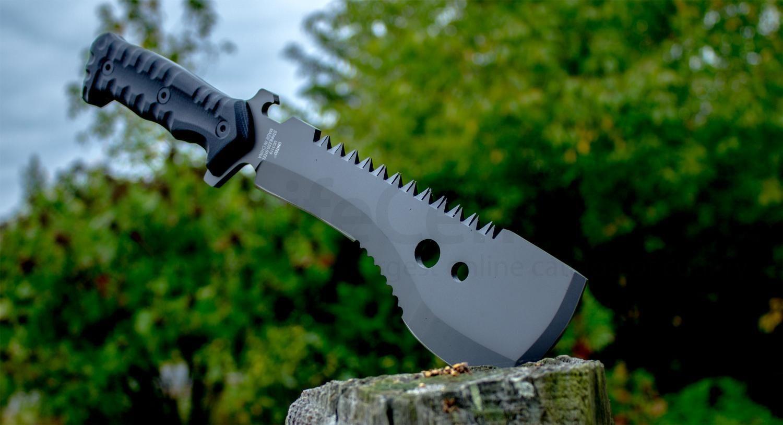 Фото 7 - Мачете M48, United Cutlery, UC3119, нержавеющая сталь 420A с титановым покрытием, рукоять пластик, чёрный