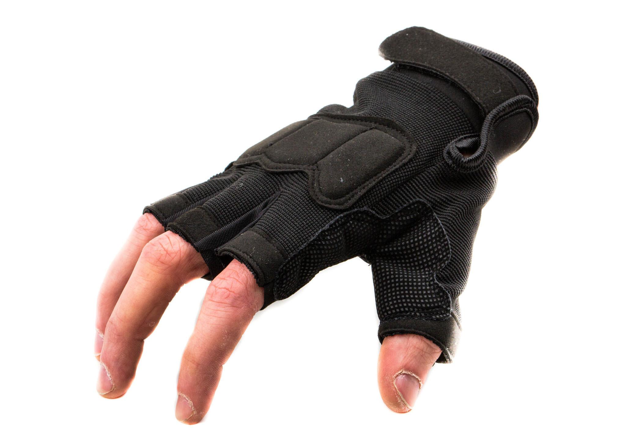 Тактические перчатки без пальцев Tactic , размер L