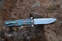 Складной нож Venom T от Kevin John, сталь M390, фото 11
