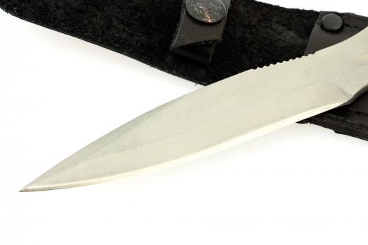Фото 14 - Нож метательный «Удар», из нержавеющей стали 65х13