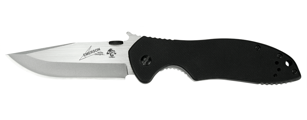 Фото 5 - Складной нож Kershaw Emerson CQC-6K K6034, сталь 8Cr14MoV, рукоять сталь/G-10