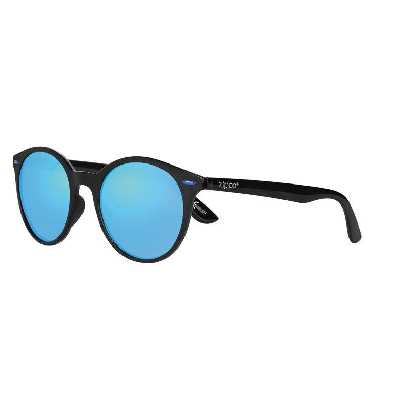 Фото - Очки солнцезащитные ZIPPO OB70-02, унисекс, чёрные, оправа из поликарбоната очки солнцезащитные zippo ob70 01 унисекс чёрные оправа из поликарбоната
