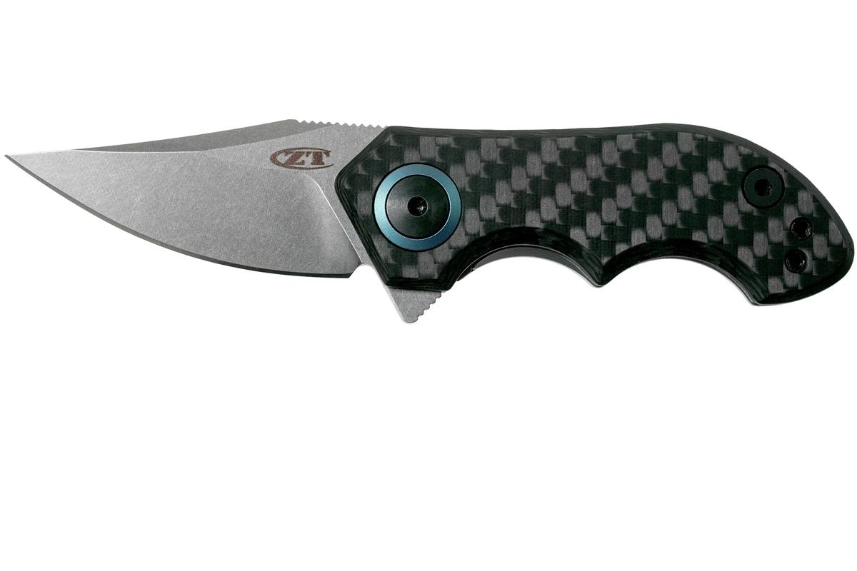 Фото 3 - Складной нож Zero Tolerance 0022, сталь CPM-20CV, рукоять титан/карбон